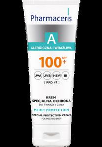 Wyrób medyczny z filtrem SPF 100