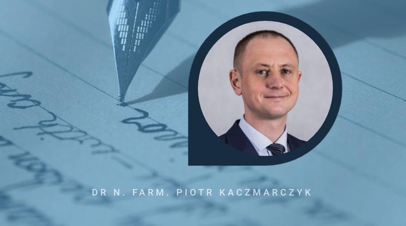"""Dr n. farm. Piotr Kaczmarczyk - autor książki """"Biały głód"""""""