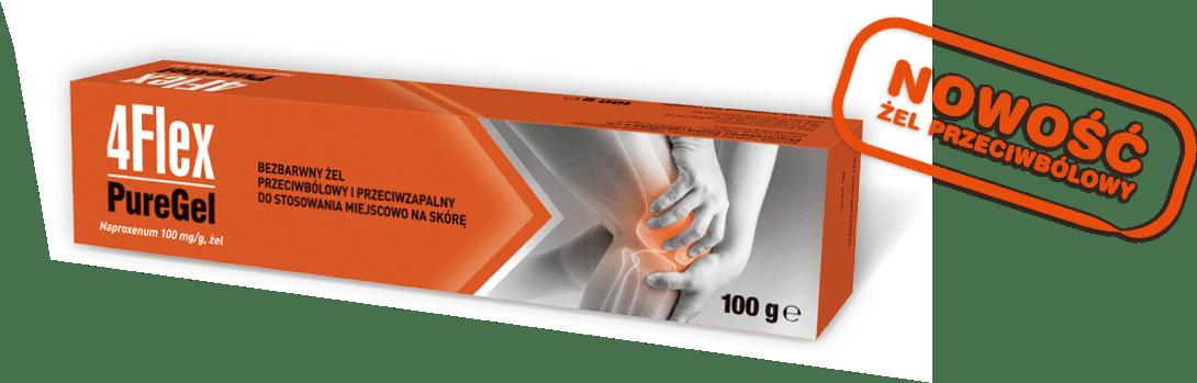Nowy 4Flex PureGel - lek w postaci bezbarwnego żelu