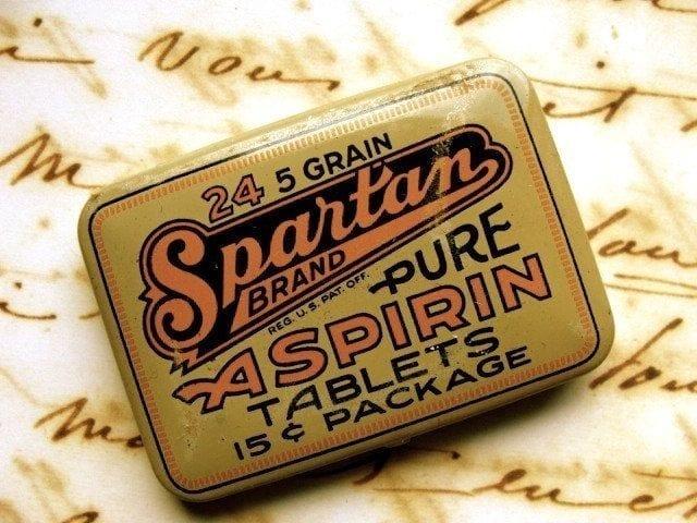 Pięciogranowa aspiryna.