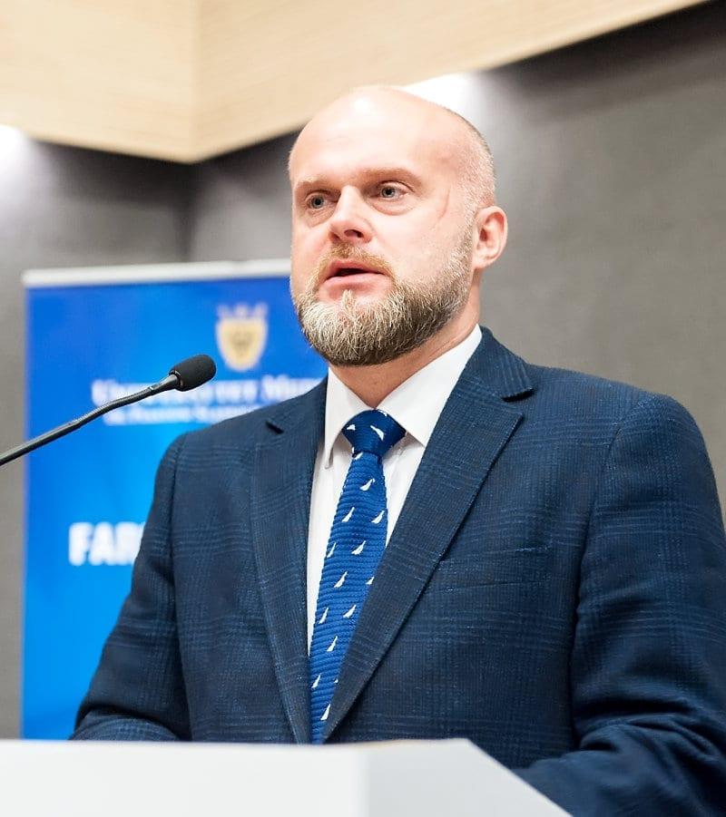 Wystąpienie podsekretarza stanu Krzysztofa Łandy.