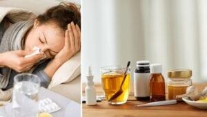 Przeziębienie i grypa.