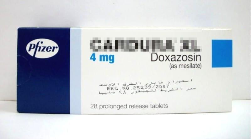 Opakowanie Cardura XL 4mg.