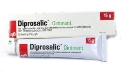 Diprosalic to połączenie sterydu z kwasem salicylowym.