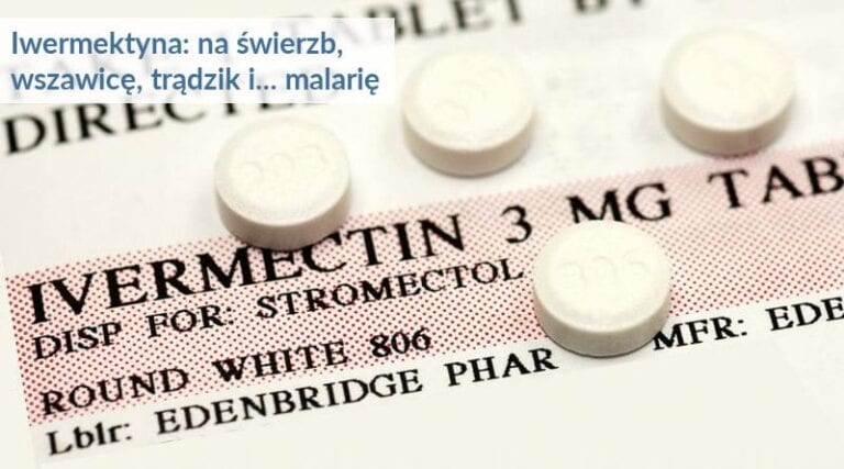 Tabletki z iwermektyną.
