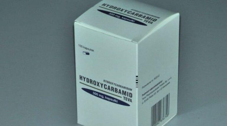 Opakowanie hydroxycardiamidu.