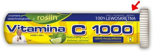 Lewoskrętna witamina C