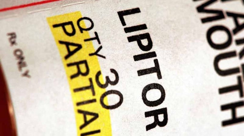 Opakowanie leku Lipitor.