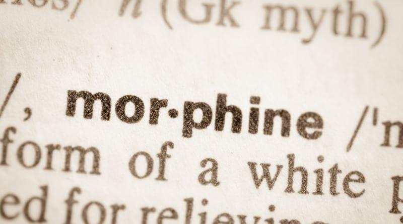 Morfina.