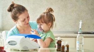 Nebulizacja - łączenie leków.