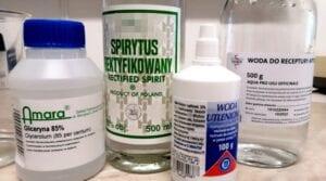 Leki gotowe do receptury