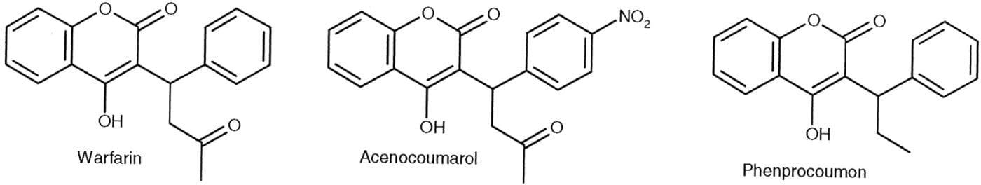 Czym się różni warfaryna od acenokumarolu? [Case #40]