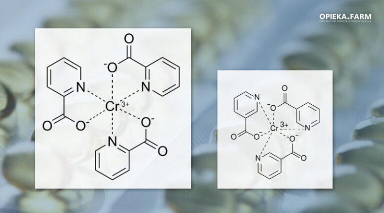 Pikolinian i nikotynian chromu