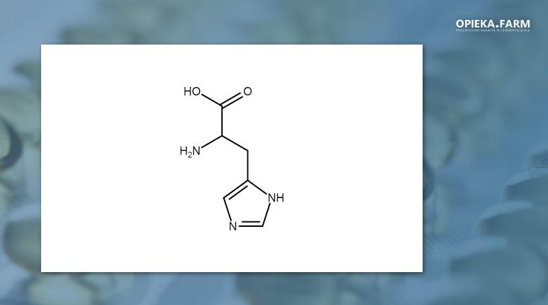 Histydyna wzór strukturalny