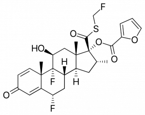 Furoinian flutykazonu
