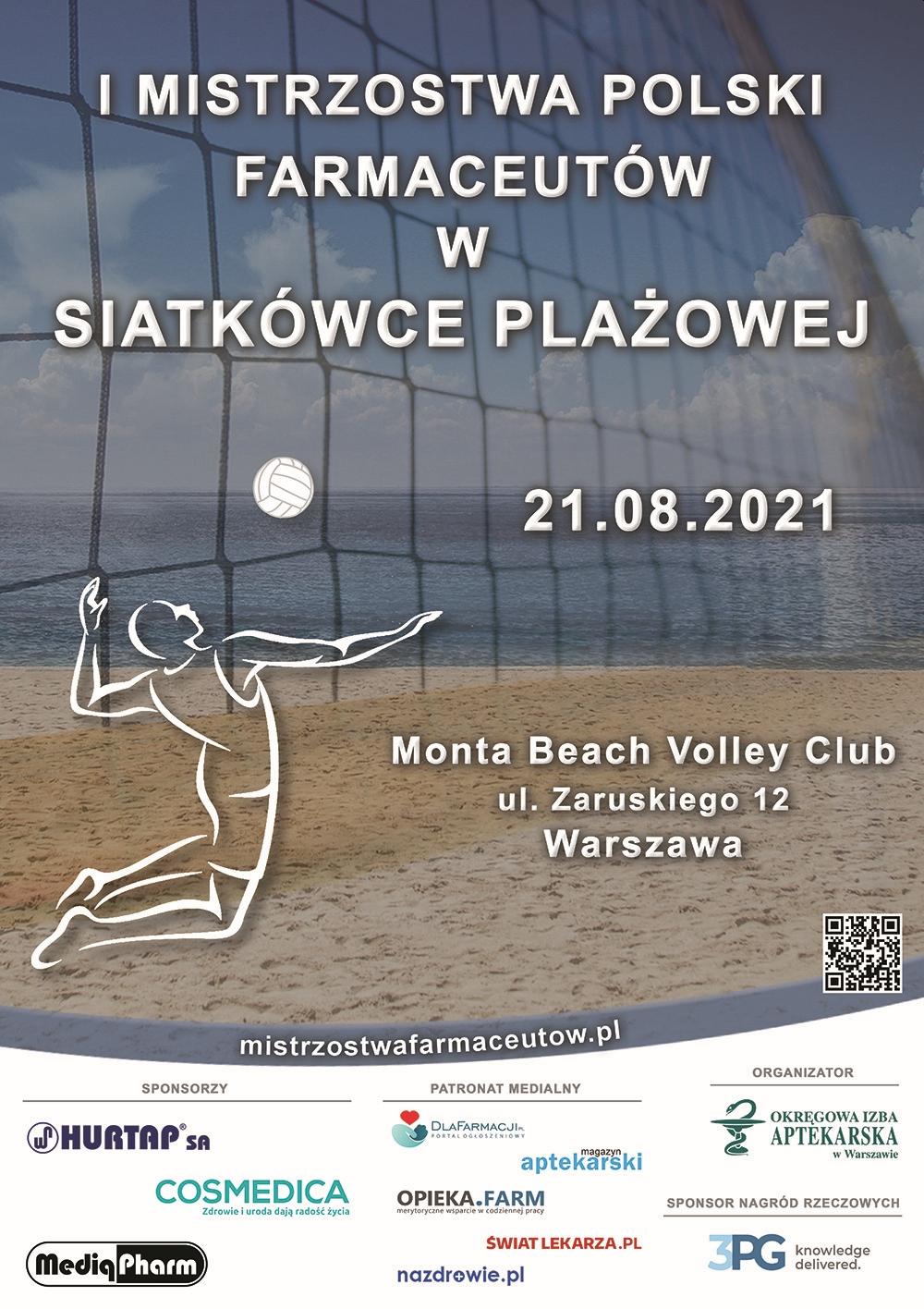 Mistrzostwa Polski Farmaceutów w siatkówce plażowej
