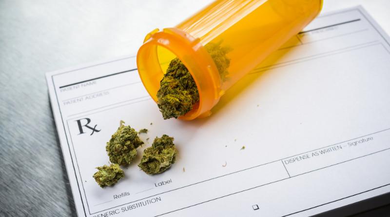 Recepta na medyczną marihuanę.